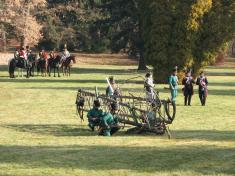 Ukázka bitvy z napoleonských válek