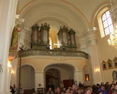 Svěcení sochy sv. Floriána