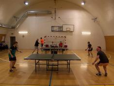 Turnaj družstev v pingpongu