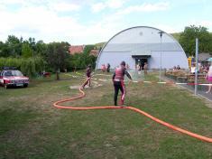 Posezení s hasiči